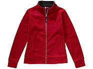 Куртка флисовая Nashville женская, красный/пепельно-серый, фото 4