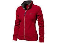 Куртка флисовая Nashville женская, красный/пепельно-серый, фото 5