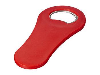 Магнитная открывалка для бутылок Rally, красный