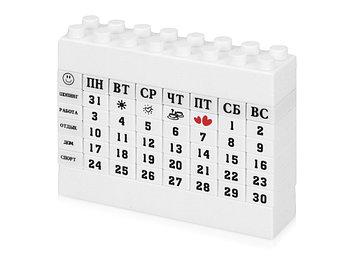 Календарь Лего, белый