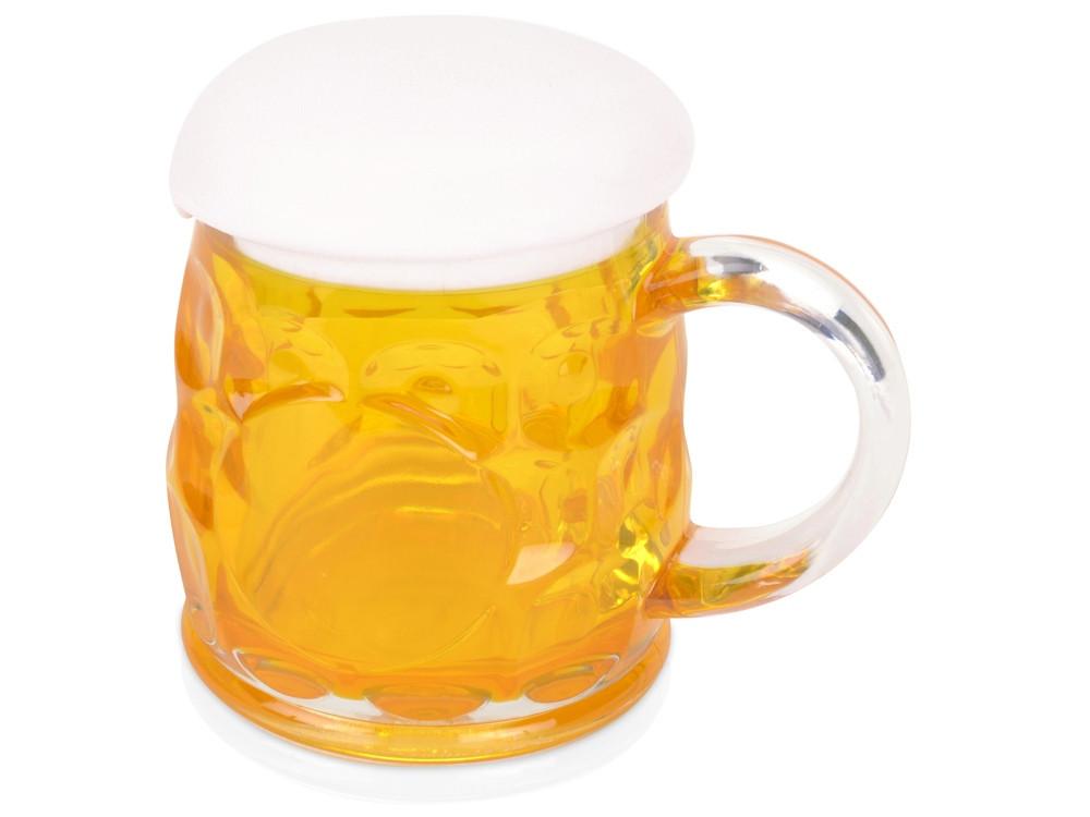Кружка для пива с крышкой в виде пены - фото 1