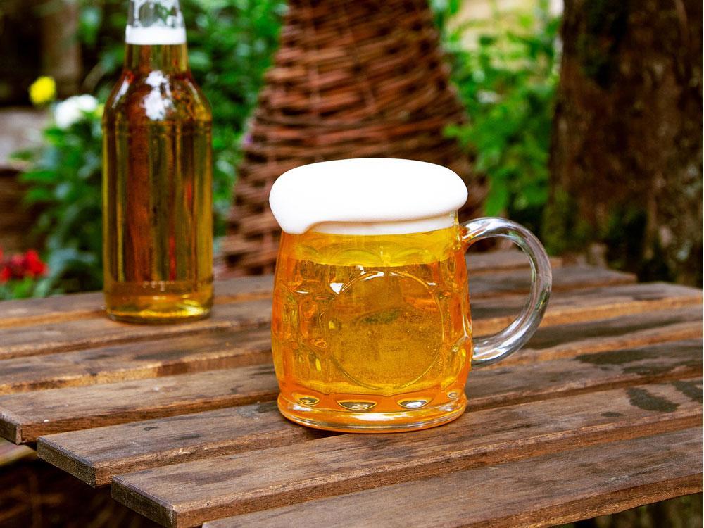 Кружка для пива с крышкой в виде пены - фото 5