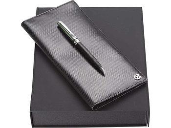 Набор: трэвел-портмоне, ручка шариковая. Christian Lacroix
