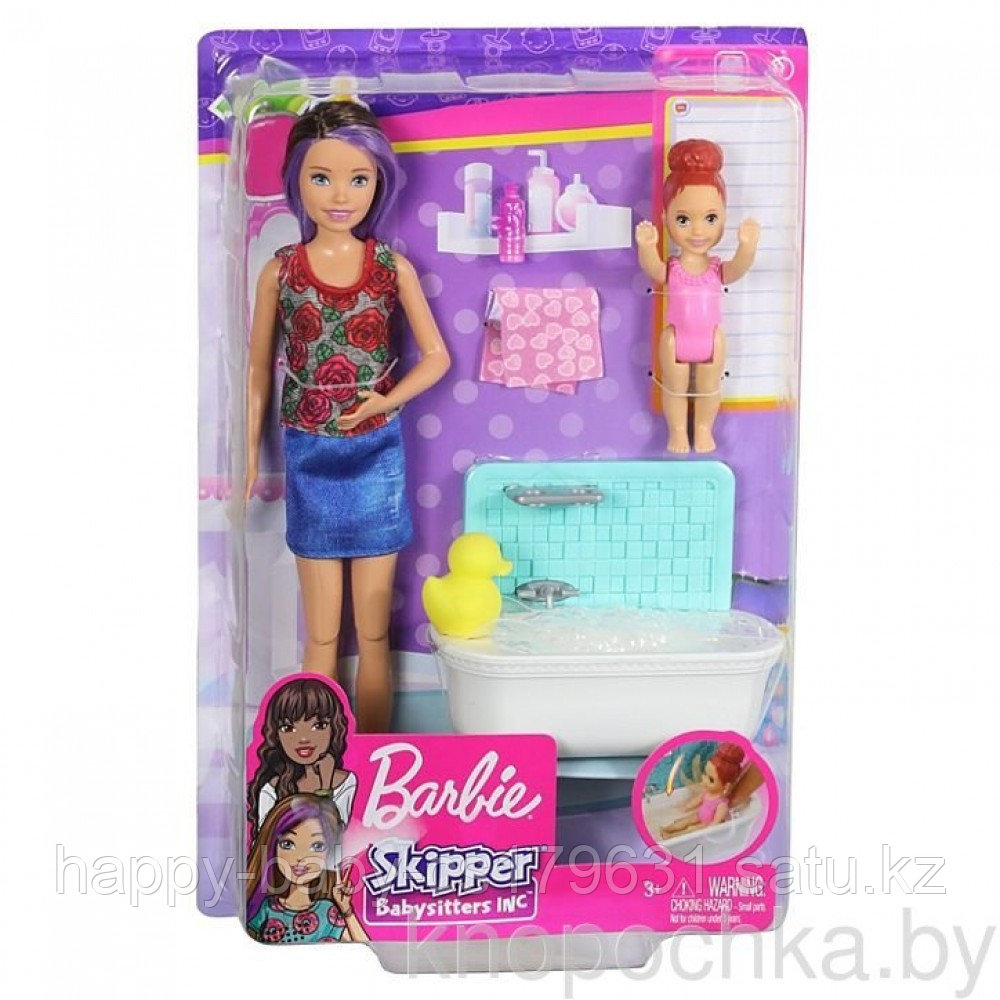 Набор Barbie Няня Скиппер с малышкой оригинал от mattel. Barbie skipper babysitters inc. - фото 2