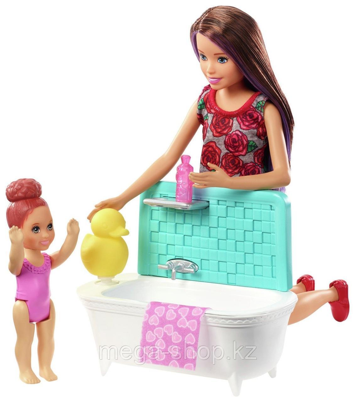 Набор Barbie Няня Скиппер с малышкой оригинал от mattel. Barbie skipper babysitters inc. - фото 3