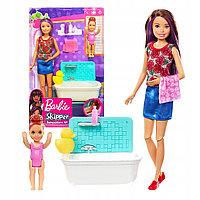 Набор Barbie Няня Скиппер с малышкой оригинал от mattel. Barbie skipper babysitters inc., фото 1