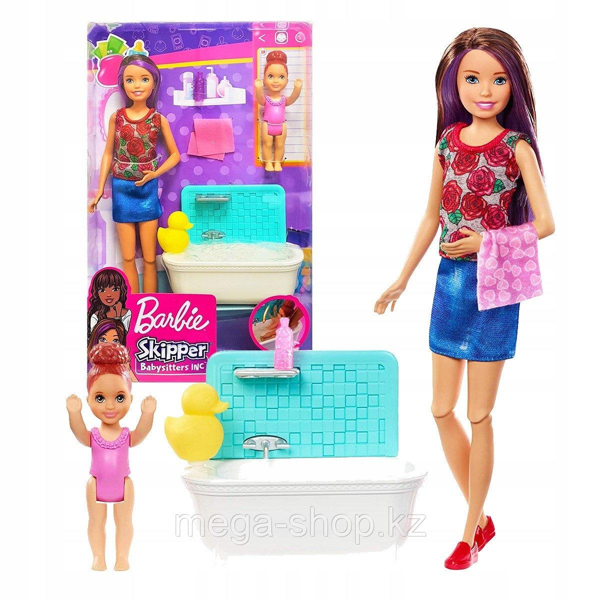 Набор Barbie Няня Скиппер с малышкой оригинал от mattel. Barbie skipper babysitters inc. - фото 1