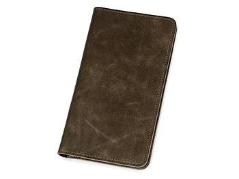 Трэвел-портмоне Druid с отделением на молнии, коричневый