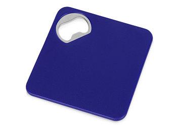 Подставка для кружки с открывалкой Liso, черный/синий