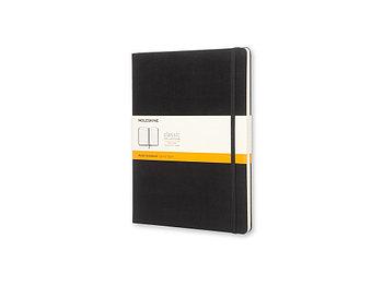 Записная книжка Moleskine Classic (в линейку), Хlarge (19х25 см), черный