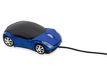 Мышь оптическая Спорткар, синий