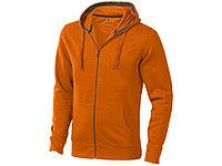 Толстовка Arora мужская с капюшоном, оранжевый