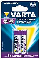 Батарейки 06106 V-1.5v LR6/AA (2шт) Prof фото литиевая батарейка