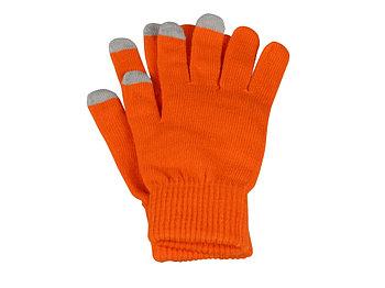 Перчатки для сенсорного экрана Сет, S/M, оранжевый