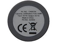 Зарядное устройство с резиновым покрытием 2200 мА/ч, черный, фото 5