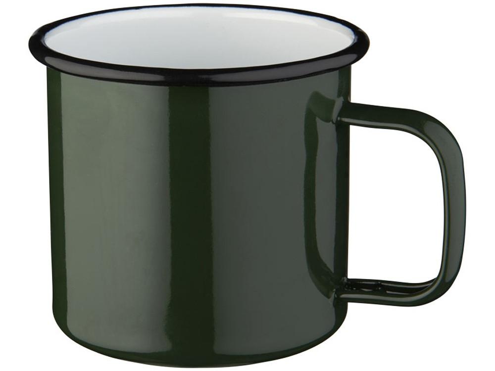 Кружка эмалированная Emal, зеленый