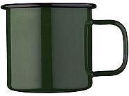 Кружка эмалированная Emal, зеленый, фото 3