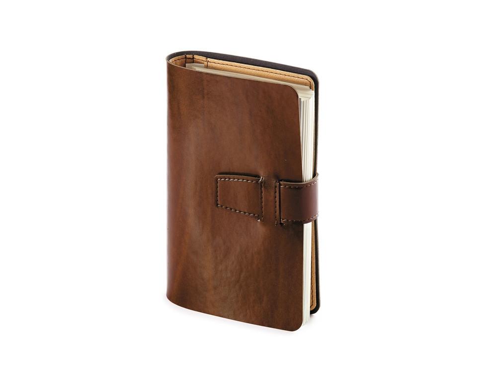 Ежедневник недатированный А5- Sienna, коричневый