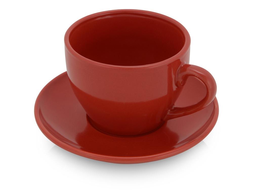 Чайная пара Гленрок, 220мл, красный (Р) - фото 1