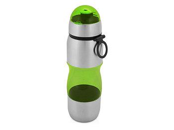 Бутылка спортивная Движение 650мл, зеленый (Р)