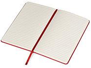 Блокнот А5 Metropolis 130*205 мм, красный, фото 2
