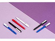 Ручка шариковая Pigra модель P03 PMM, черный/белый, фото 4
