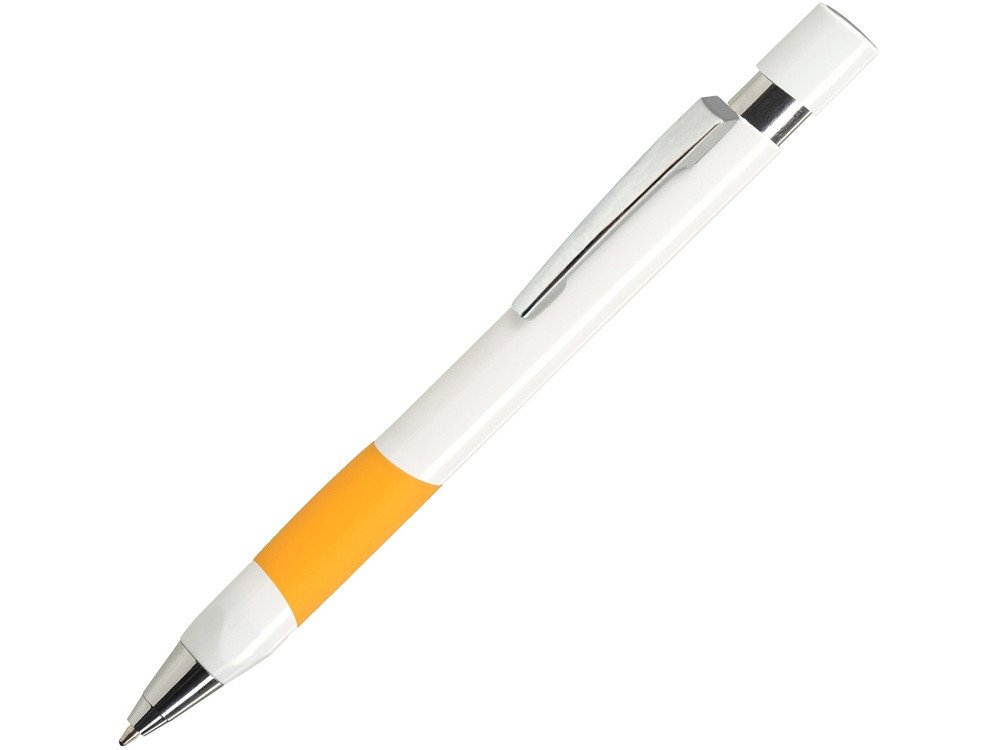 Шариковая ручка Eve,  белый/желтый
