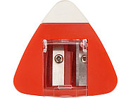 Точилка с ластиком Easy duo, красный, фото 4