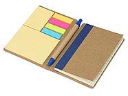 Набор стикеров Write and stick с ручкой и блокнотом, синий, фото 2