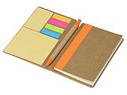 Набор стикеров Write and stick с ручкой и блокнотом, оранжевый, фото 2