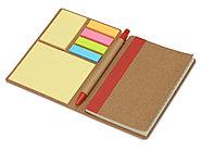 Набор стикеров Write and stick с ручкой и блокнотом, красный, фото 2