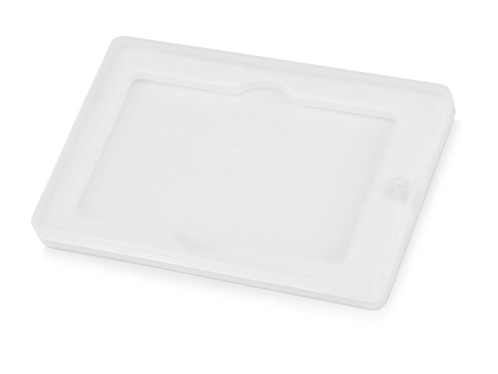 Коробка для флеш-карт Cell в шубере, белый прозрачный