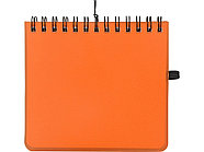 Блокнот А6 Журналист, оранжевый, фото 2