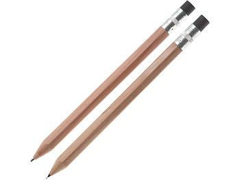 Набор Даллас: ручка шариковая, карандаш с ластиком в футляре