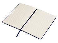 Блокнот А5 Magnet 14,3*21 с магнитным держателем для ручки, синий, фото 3