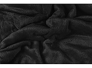 Плед мягкий флисовый Fancy, черный, фото 2