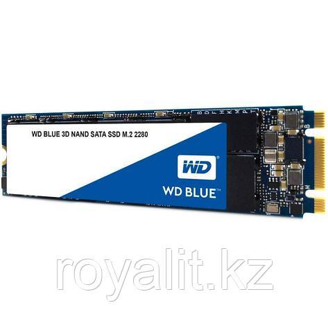Твердотельный накопитель SSD 250 Gb M.2 NVMe  6Gb/s WD Blue  WDS250G2B0С, фото 2