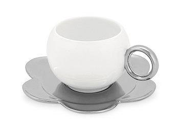 Чайная пара: чашка на 220 мл с блюдцем