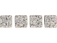 Камни для виски Gentleman в бархатном мешочке, 4 шт, серый, фото 2