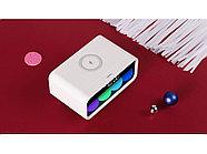 Часы с беспроводным зарядным устройством Rombica Timebox 1, белый, фото 8