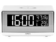 Часы с беспроводным зарядным устройством Rombica Timebox 2, белый, фото 2