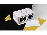 Часы с беспроводным зарядным устройством Rombica Timebox 2, белый, фото 8