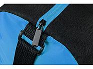 Сумка спортивная Master с цветными молниями, неоново-голубой, фото 5