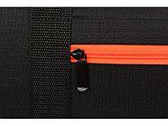 Сумка спортивная Master с цветными молниями, неоново-оранжевый, фото 6