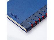 Ежедневник недатированный с индексами А5 Bergamo, синий, фото 3