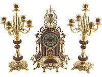 Композиция: интерьерные часы с подсвечниками Герцог Альба