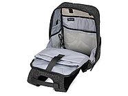 Противокражный водостойкий рюкзак Shelter для ноутбука 15.6 '', черный, фото 2