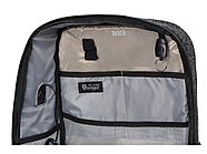 Противокражный водостойкий рюкзак Shelter для ноутбука 15.6 '', черный, фото 3