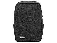Противокражный водостойкий рюкзак Shelter для ноутбука 15.6 '', черный, фото 5