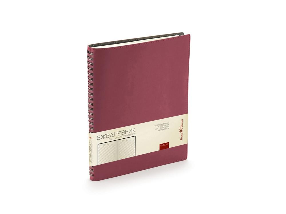 Ежедневник недатированный B5 Tintoretto New, бордовый